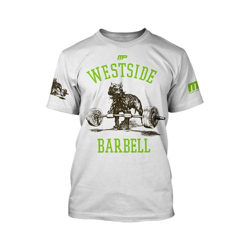 Musclepharm Sportswear Westside Barbell T- White