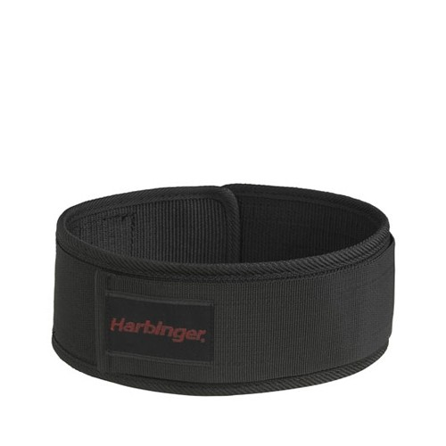 4 Inch Nylon Belt Black