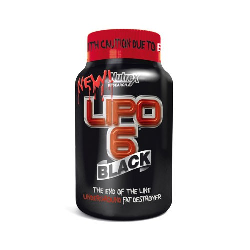 Nutrex Research Lipo-6 Black