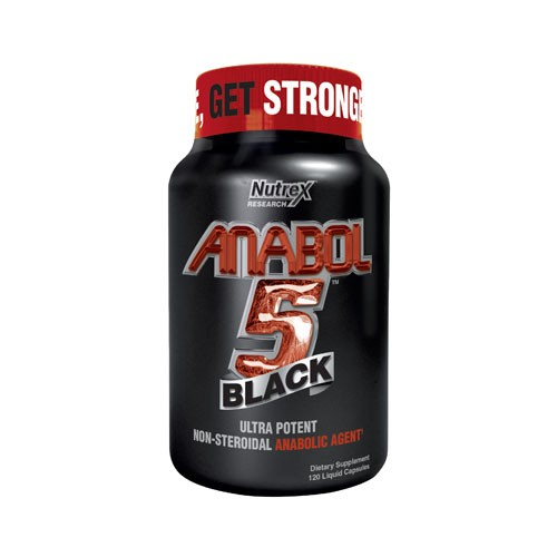 Use Nutrex Research Anabol-5 Black to increase your body's production of protein synthesis.