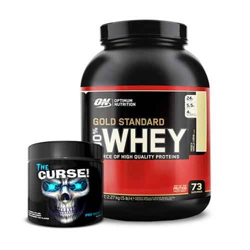 2kg Whey + Curse preworkout