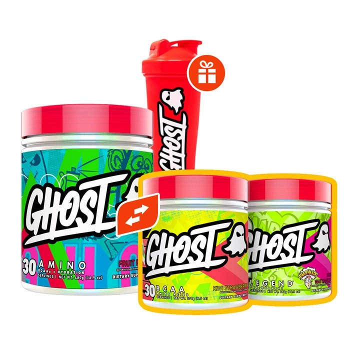 Ghost Pack + Free Shaker