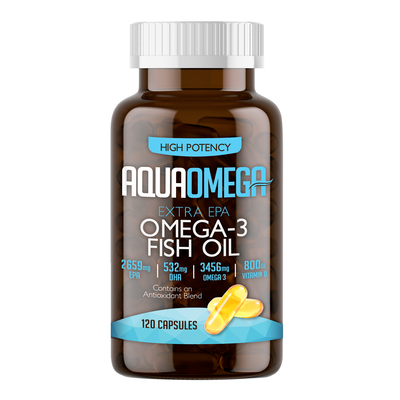 Aqua Omega Fish Oil Capsules