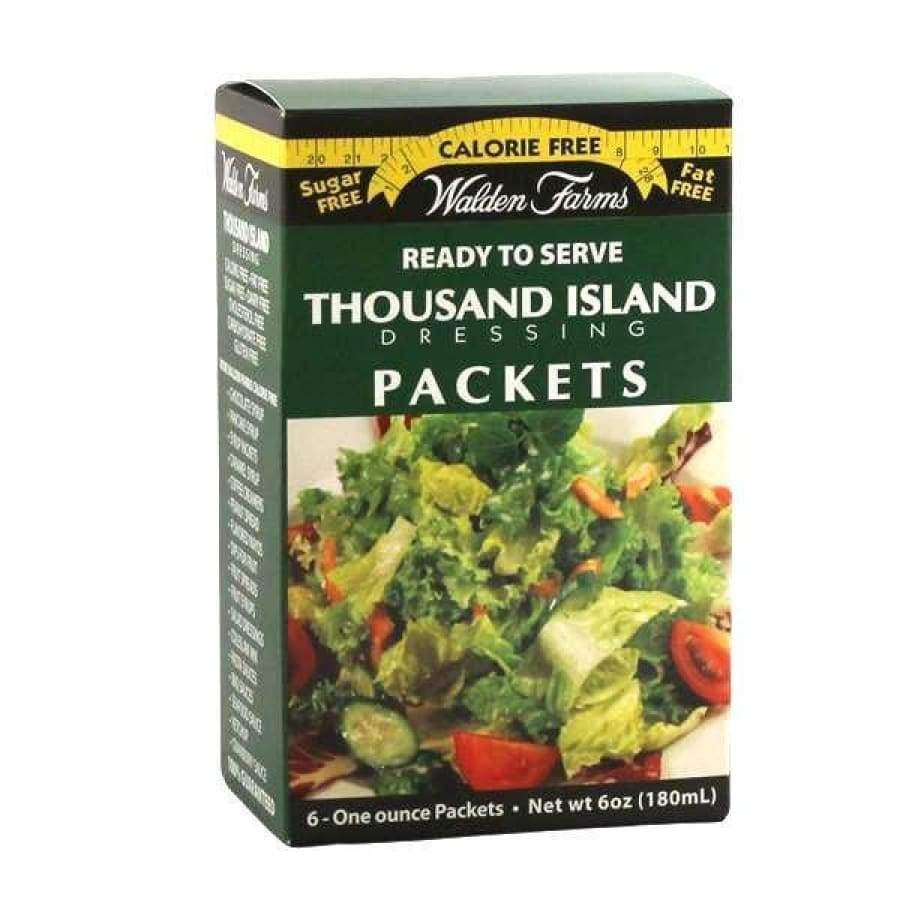 Walden Farms Dressing Salad 6 Sachets