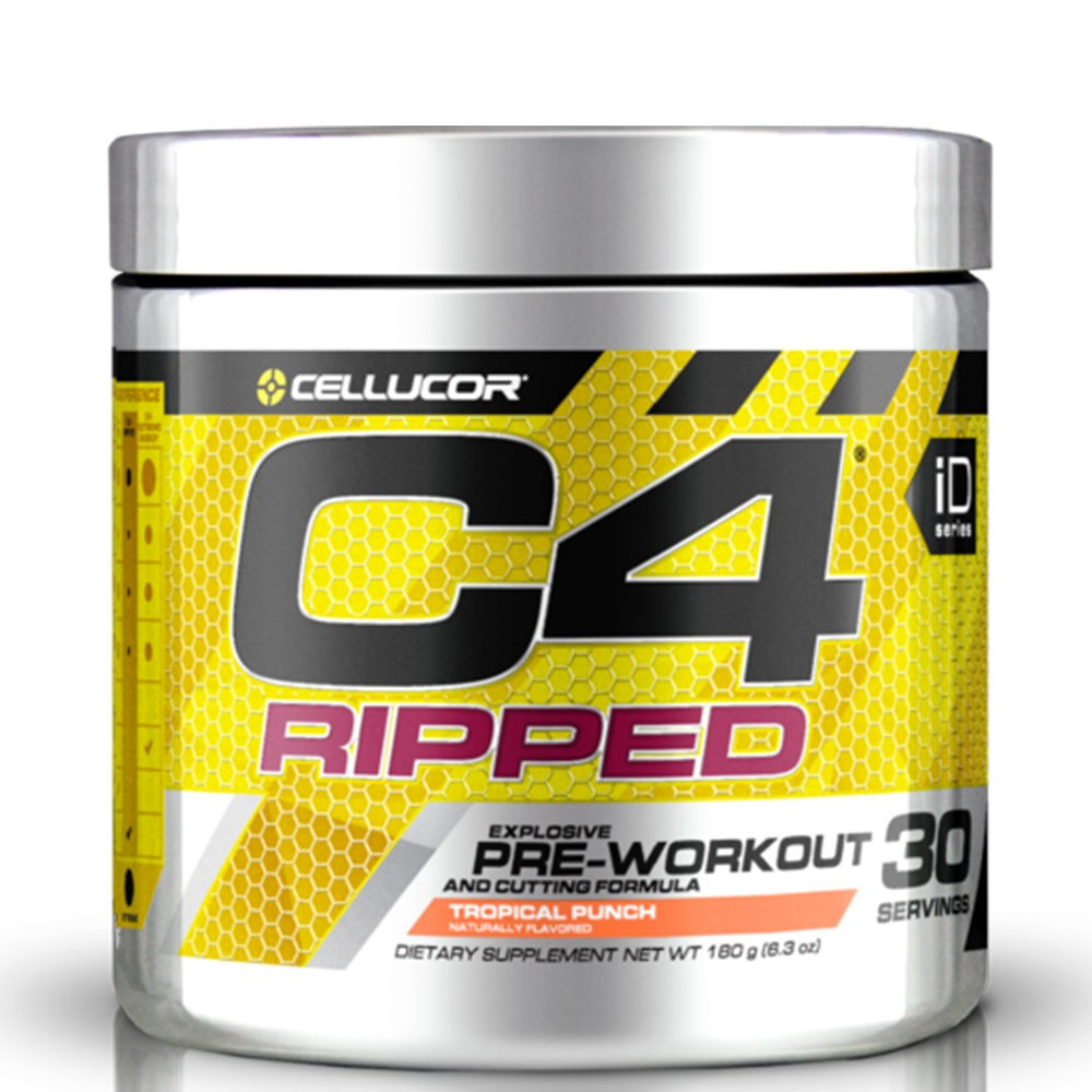 Buy C4 Ripped Pre-workout from Cellucor | Only 41.54 GBP | Gymnordic.com