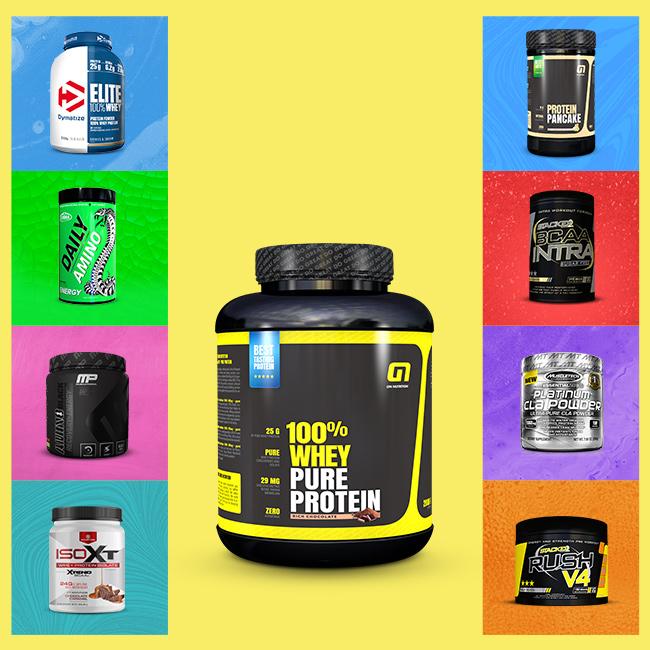 2kg 100% Whey Protein + Bonus produkt