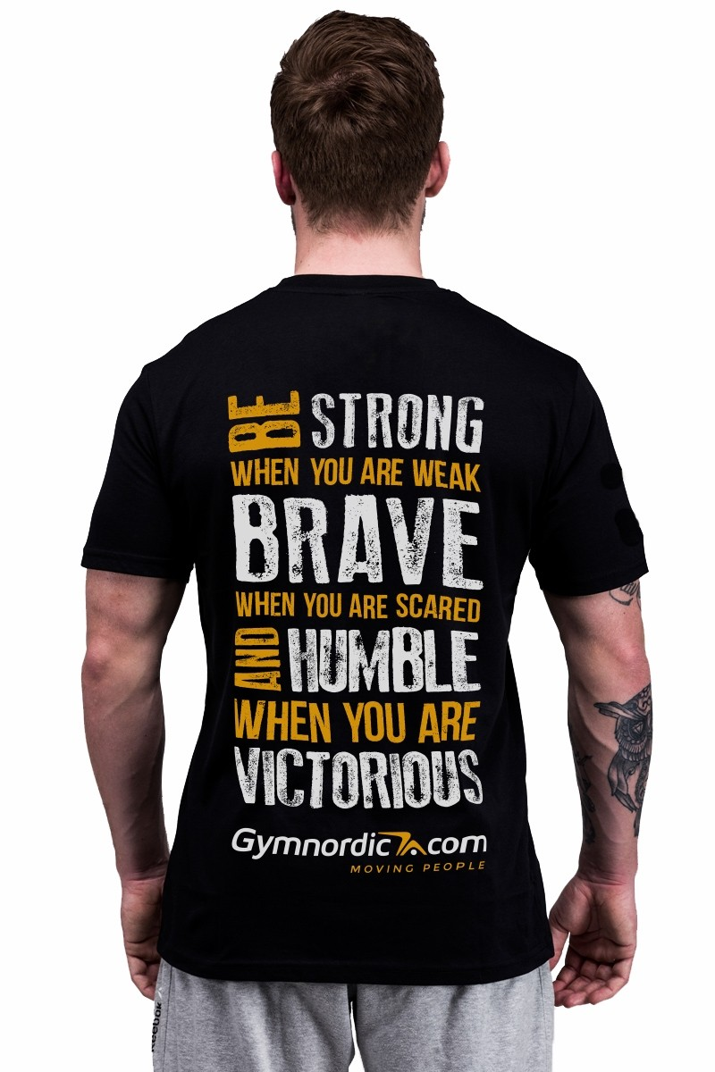 Gymnordic Quote Tshirt