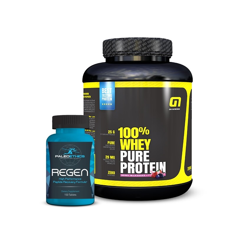 100% Whey + FREE Paleoethics product