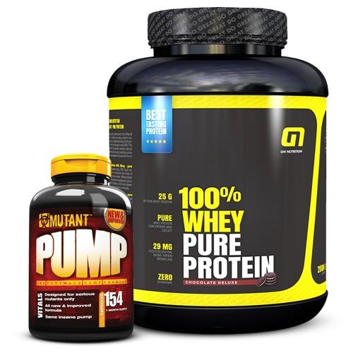 2kg Whey + Mutant Pump