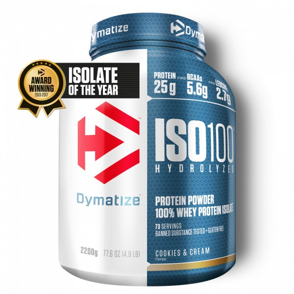 ISO100 Hydrolyzed Whey Protein Isolate