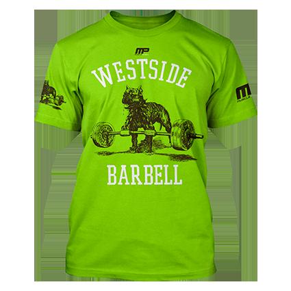 Westside Barbell Tshirt (Green)