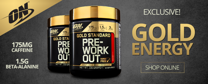 <center><b>Exclusive: Gold Energy Pre-workout</b></center>