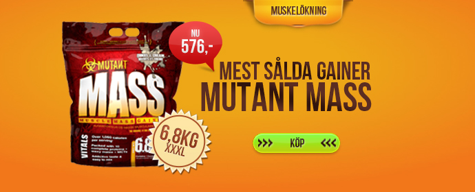 <center><b>Mutant Mass - 6,8 kg</b></center>