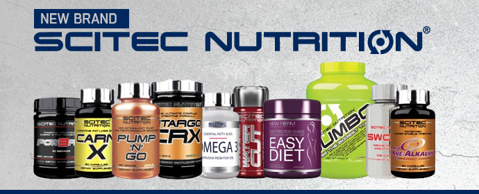 <center><b>Scitec Nutrition - New brand</b></center>