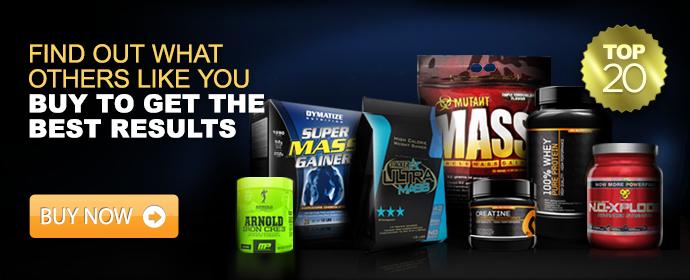 <center><b>Top 20 supplements</b></center>