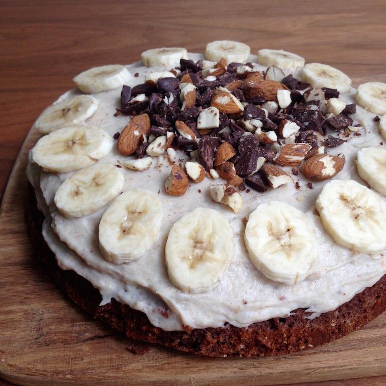 Choko Banan Protein Kage